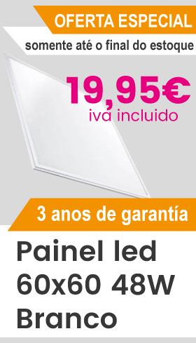 Oferta hasta fin de existencias de panel led 60x60 48w